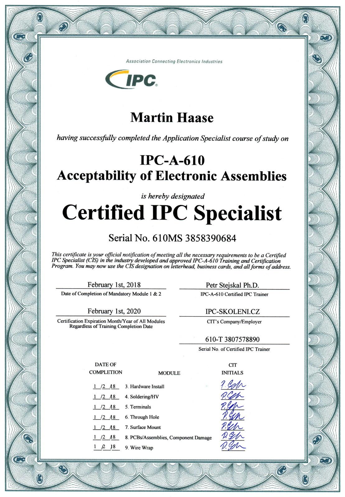ipc-a-610-haase