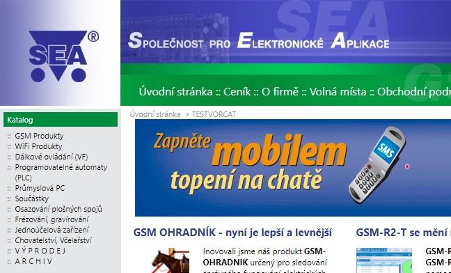 Výprodej a starý web seapraha.cz